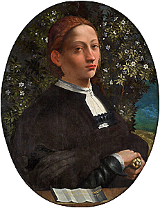 Lucrezia Borgia (1480-1519), infamous lady of the Borgia family who purportedly poisoned rivals.