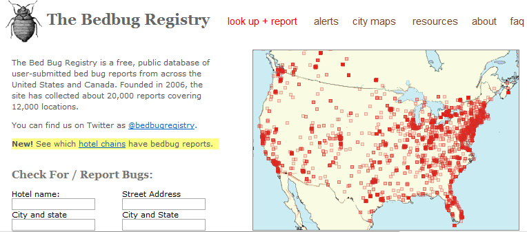 Bed Bug Registry Nyc Hotels