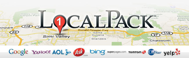LocalPack business listing citation distribution service at Bruce Clay Inc.
