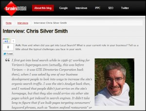 Chris Silver Smith Interview