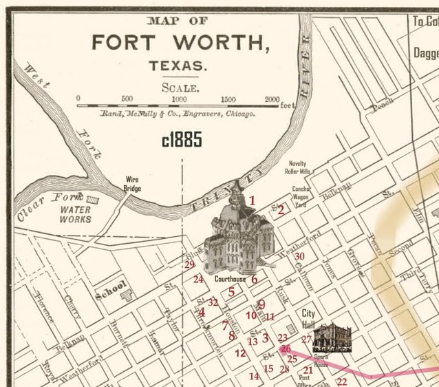 Locating The Site Of H H Holmes S Murder Castle In Fort Worth