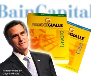 Bain Capital, Mitt Romney, and Seat Pagine Gialle - Italy Yellow Pages