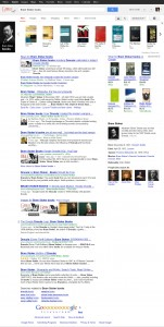 Google Logo - Bram Stoker Customized Search Results Page