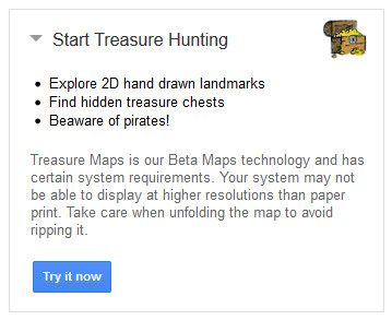Treasure Maps - start treasure hunting