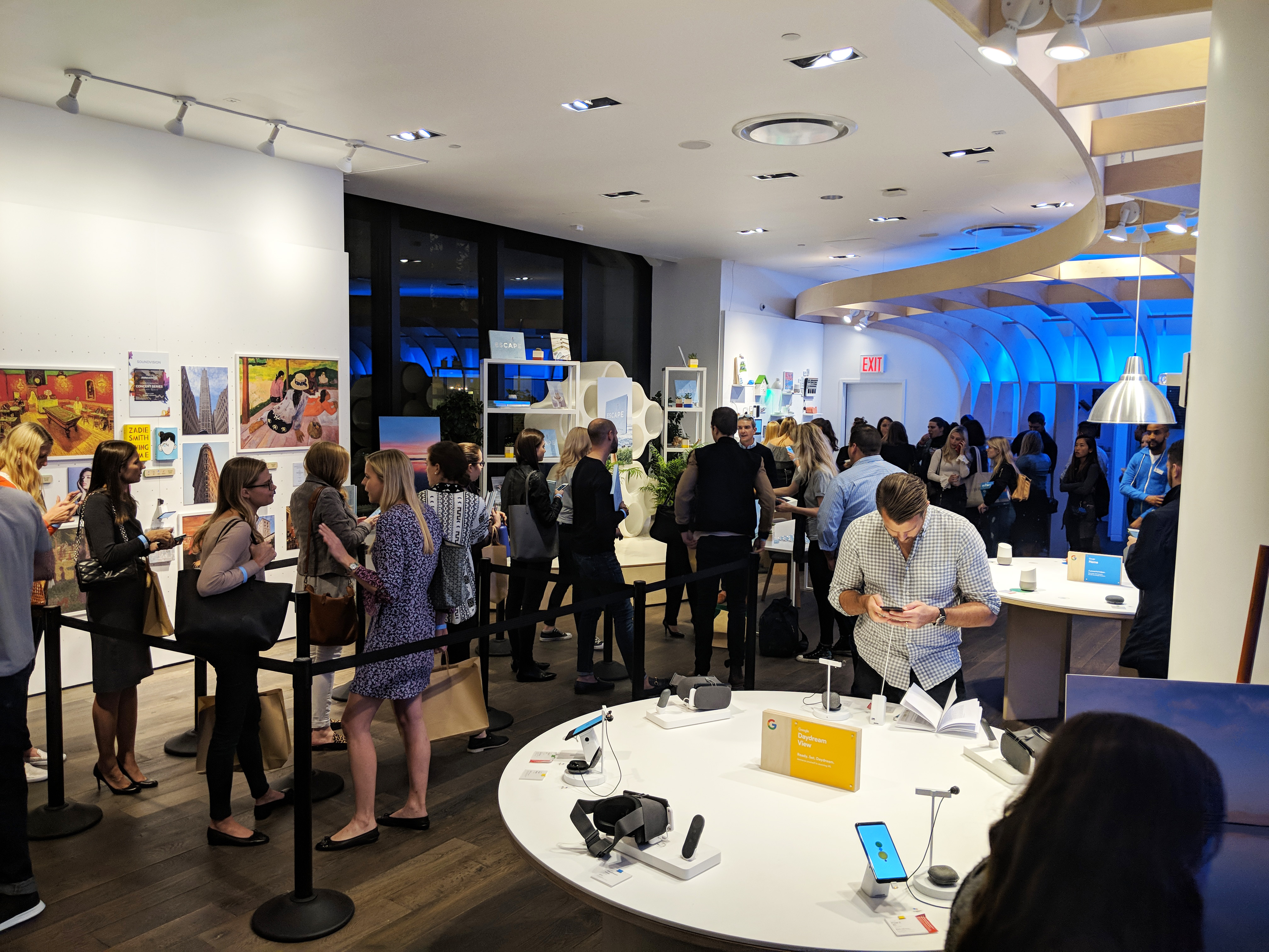 Book signing for Gray Malin at Google Popup Store, Flatiron, Manhattan, 2017